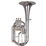 Besson Prestige Tenor Horn - Silver Plating