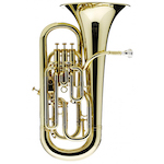 "Besson Prestige 12"" Bell Professional Euphonium - Clear Lacquer"