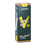 Vandoren V16 Reeds for Baritone Saxophone - Box of 5 - NEW FOR 2017!