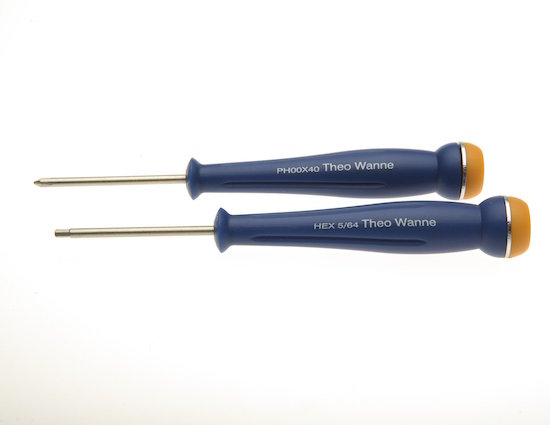 Theo Wanne Ligature Screwdriver Set