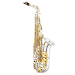 Jupiter Performance Alto Saxophone - Silver Plated Body