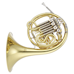 Jupiter Performance Fixed Bell Double French Horn - Mechanical Linkage