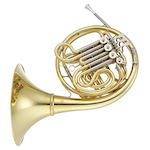 Jupiter Performance Detached Bell Double French Horn - Mechanical Linkage - INSTANT REBATE SHOWN IN CART (PLUS GIFT CARD FOR SAME VALUE INCLUDED)