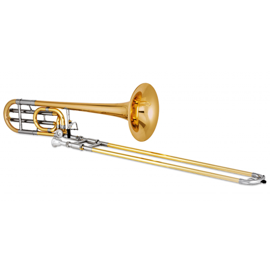 Jupiter XO Professional Bb/F Tenor Trombone - Traditional Wrap and Rotor - Rose Brass Bell - INSTANT REBATE SHOWN IN CART (PLUS GIFT CARD FOR SAME VALUE INCLUDED)