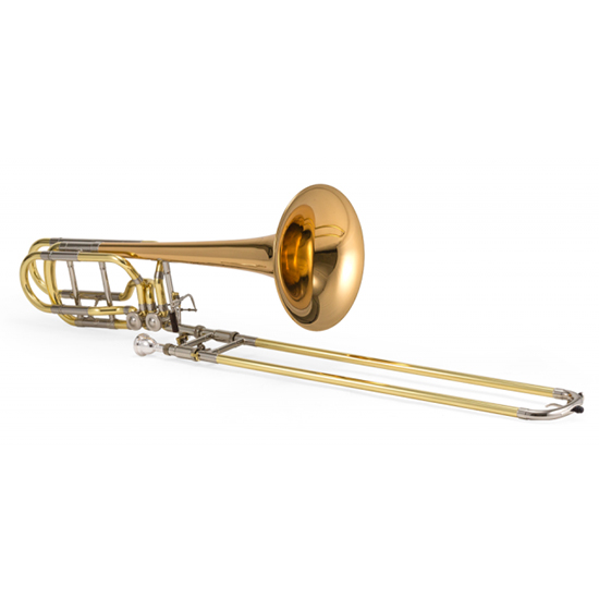 Jupiter XO Professional Bass Trombone - Dual Independent Inline Rotors - Rose Brass Bell + $200 GIFT CARD