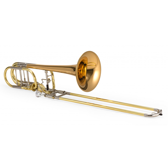 Jupiter XO Professional Bass Trombone - Dual Independent Thru-Flow Rotors - Rose Brass Bell - INSTANT REBATE SHOWN IN CART (PLUS GIFT CARD FOR SAME VALUE INCLUDED)