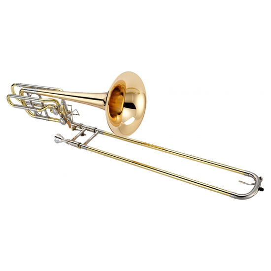 Jupiter XO Professional Bass Trombone - Dual Dependent Rotors - Rose Brass Bell + $200 GIFT CARD