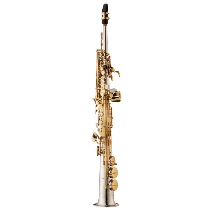Yanagisawa WO Series Sterling Silver Soprano Saxophone - One Piece Body - JUST RELEASED