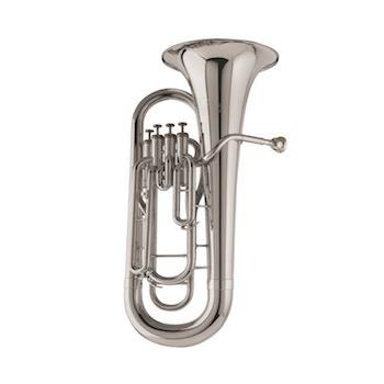 Holton Collegiate 4-Valve Euphonium - Silver Plated
