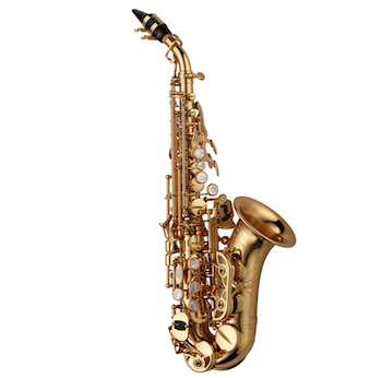 Yanagisawa Curved Soprano Saxophone - Lacquered Brass - $250 INSTANT REBATE (Shown in Cart)