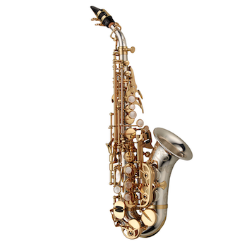 Yanagisawa Curved Soprano Saxophone - Sterling Silver - $250 INSTANT REBATE (Shown in Cart)