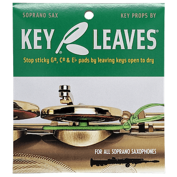 Key Leaves Soprano Saxophone Key Props