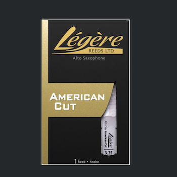 Legere American Cut Alto Saxophone Reed - JUST RELEASED!