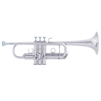 "DEMO Bach Stradivarius ""Artisan Collection"" C Trumpet - Silver Plating"