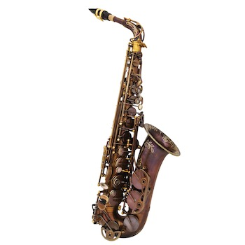 The Growling Sax (by Victory Musical Instruments) Uprise Series Alto Saxophone - Unlacquered