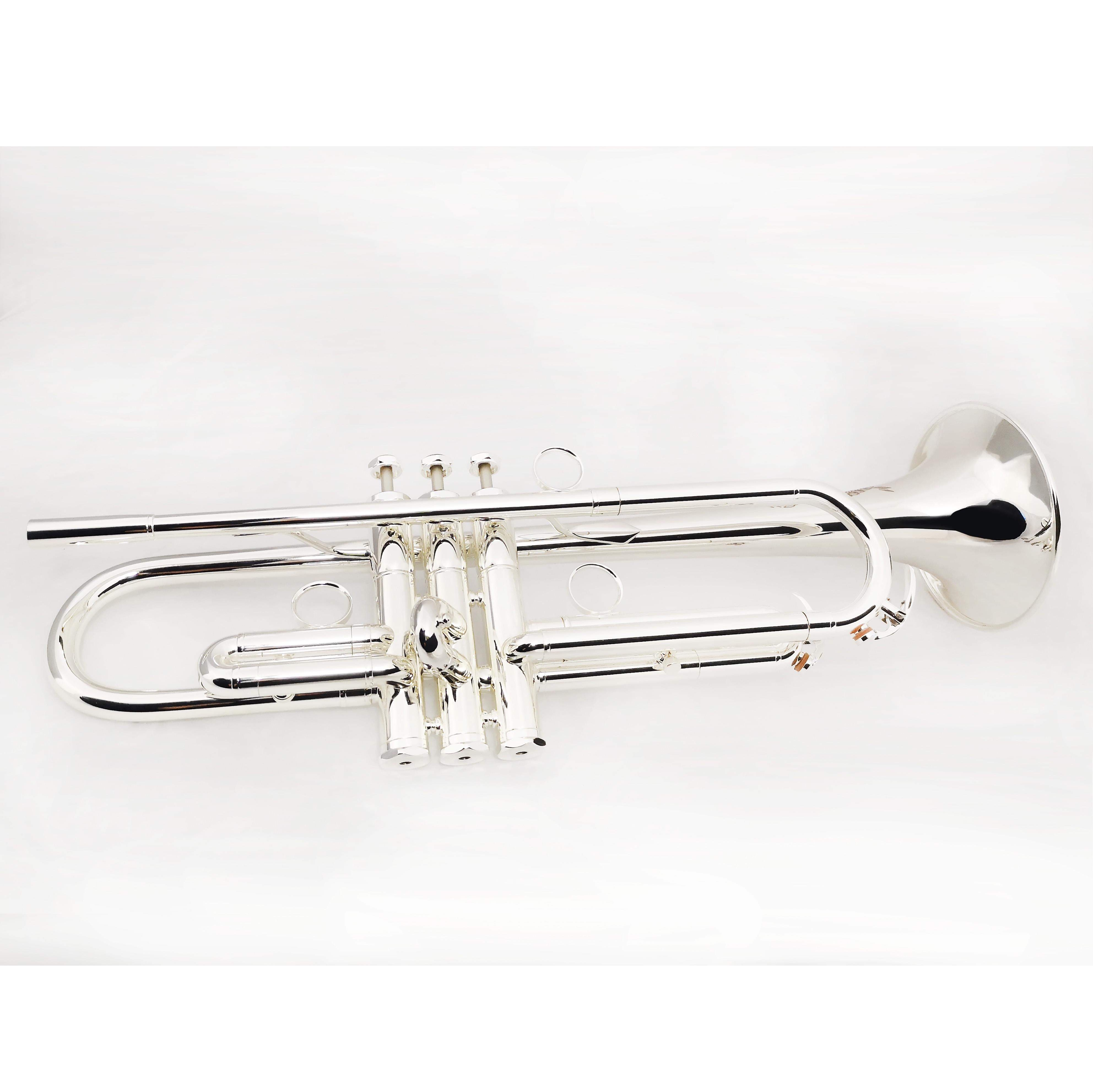 Victory Musical Instruments Revelation Series Professional Bb Trumpet - Silver Plating