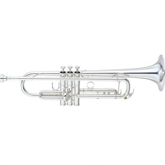 "Yamaha Custom ""LA"" Bb Trumpet - Silver Plating"