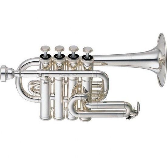 Yamaha Professional Piccolo Trumpet [Silver Finish]