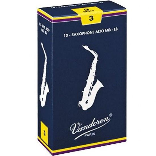 Vandoren Traditional Alto Sax Reeds (10 per box)