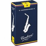 Vandoren Traditional Alto Sax Reeds (10 per box)