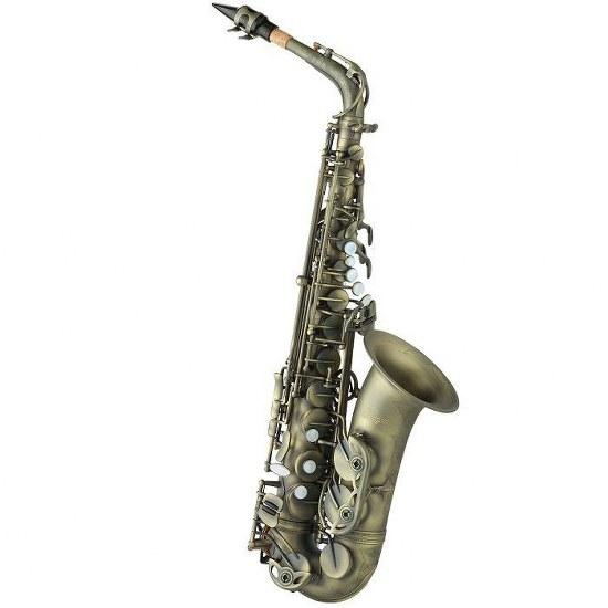 Antigua Power Bell Alto Saxophone - Antique Finish