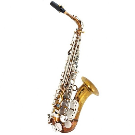"""Keilwerth """"Vintage"""" Alto Saxophone - Clear Lacquer"""