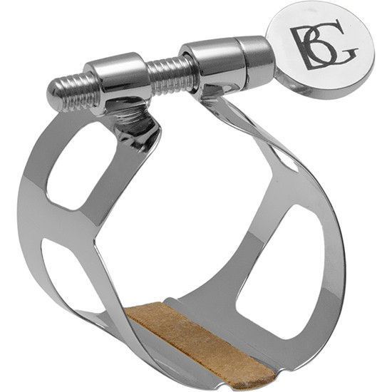 BG Tradition Silver Plated Clarinet Ligature and Cap