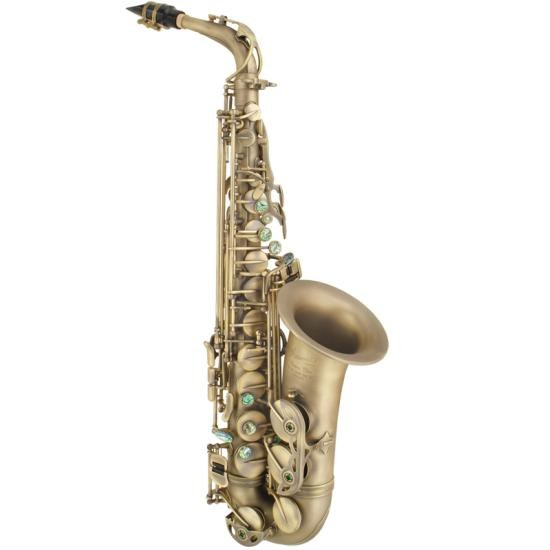 P. Mauriat System 76 Alto Saxophone - Vintage Dark Lacquer