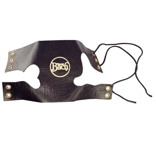 Bach Leather Trumpet Valve Guard with Laces - Multiple Colors