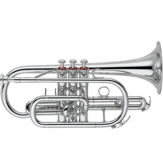 Yamaha Standard Bb Cornet [Silver-plated]