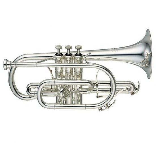 Yamaha Professional Xeno Bb Cornet [Silver], Yamaha Trumpets