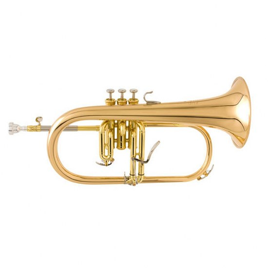 Yamaha Custom Bb Flugelhorn - Gold Brass Bell