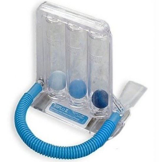 Triflow Breathing Device