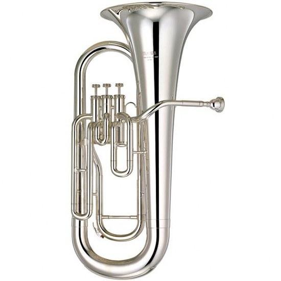 Yamaha Convertible Marching Euphonium - Silver Plating