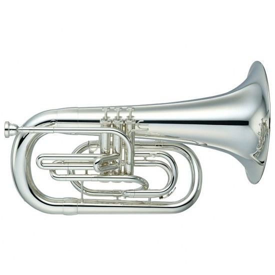 Yamaha Marching Euphonium - Silver Plating