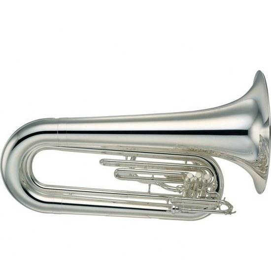 Yamaha Marching Tuba - Silver Plating