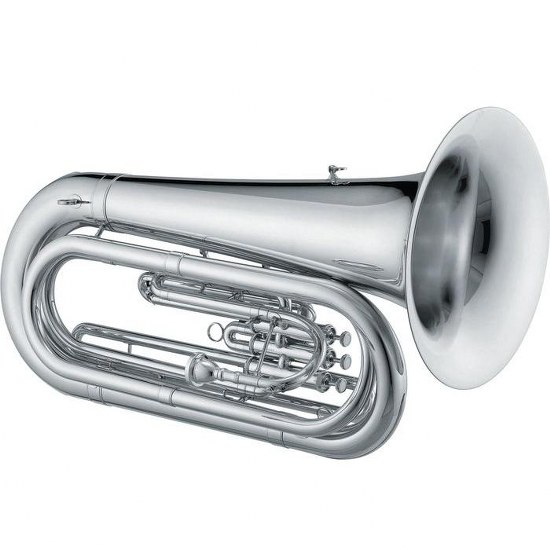 Jupiter Qualifier BBb Convertible Tuba [Silver Plated]