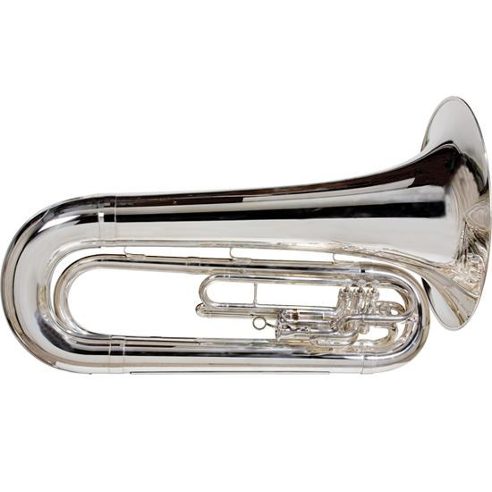 "King ""Ultimate"" Marching Tuba - Silver-Plated"