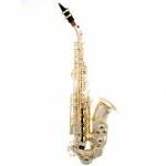 L.A. Sax Kim Waters Signature Curved Silver Soprano Sax