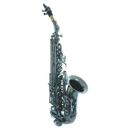 L.A. Sax Shelby Brown Signature Curved Black Soprano Sax
