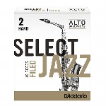D'Addario (Rico) Select Jazz Alto Saxophone Reeds - Filed