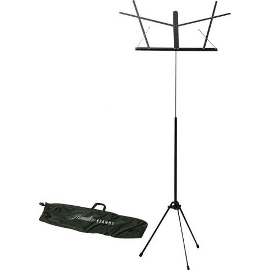 Hamilton Automatic Clutch Folding Stand, Black w/ Carrying Bag