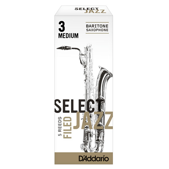 D'Addario (Rico) Select Jazz Baritone Saxophone Reeds - Unfiled