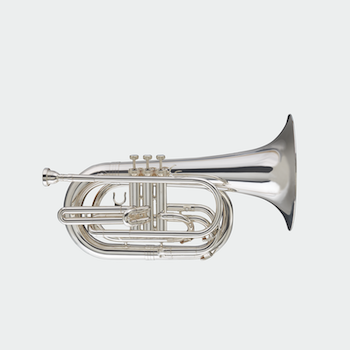 Blessing Marching Baritone - Silver Plating