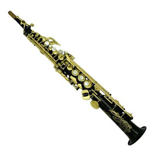 Yamaha Custom EX Soprano Saxophone - Black Lacquer w/ High G Key