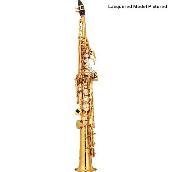 Yamaha Custom Z Curved Neck Soprano Saxophone - Silver Plating