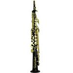Yamaha Custom Z Straight Neck Soprano Saxophone - Black Lacquer