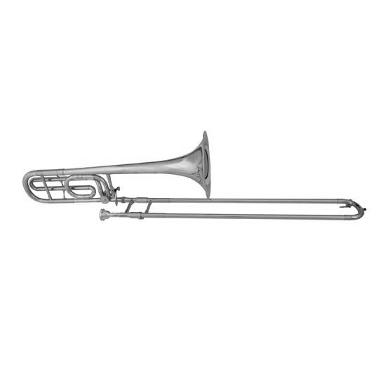 Blessing Professional Tenor Trombone [F-Attachment/Silver Finish]