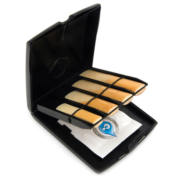 Rico Multi-Instrument Reed Storage Case with Humidity Control Pack