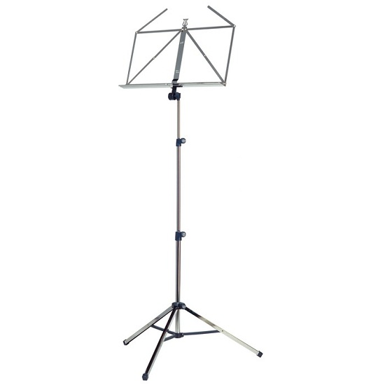 K&M Extra Sturdy Folding Music Stand - Multiple Finishes!